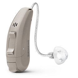 One Siemens ORION 2 312 RIC Hearing Aid